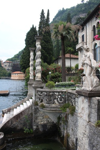 Steps and statues:  the gardens of Villa Monastero.