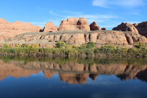 Postcard perfect: Scenic view of Colorado River along Potash Road.