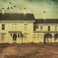 Create a spooky house using distressedfx