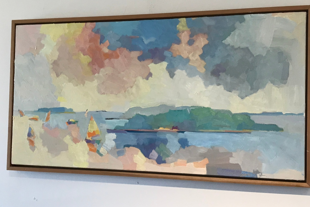 Mainely Art:  Three places we loved in Boothbay region