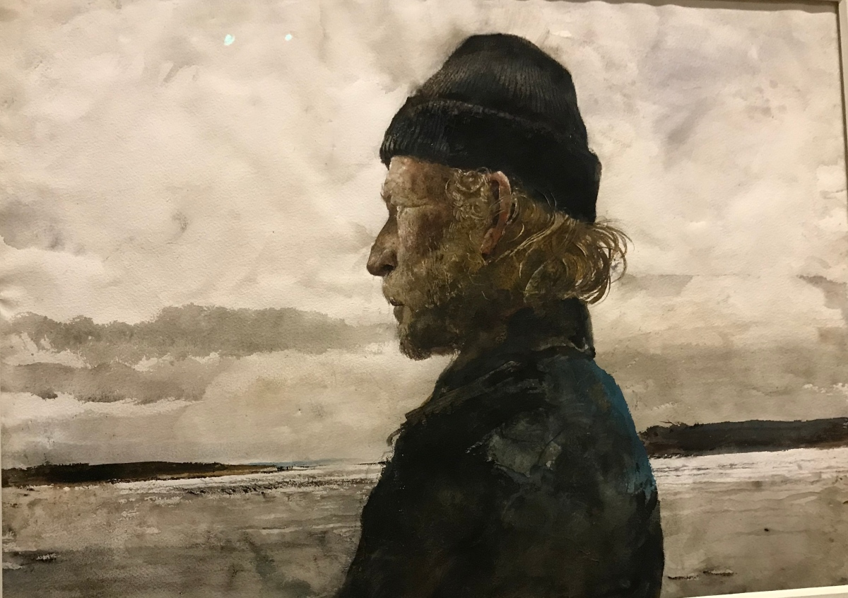 "Farnsworth's exhibit ""Andrew Wyeth at 100"": Remarkable!"