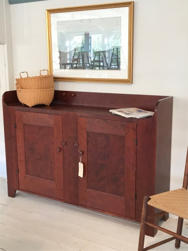 Custom sideboard can be built to your specifications.