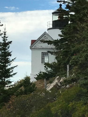 From the left side:  Bass Harbor Lighthouse, Mount Desert Island.