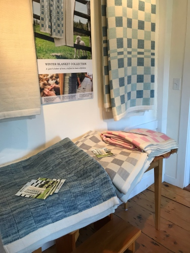 Classic patterns: Swans Island Blankets