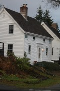 Classic saltbox in Castine, Maine