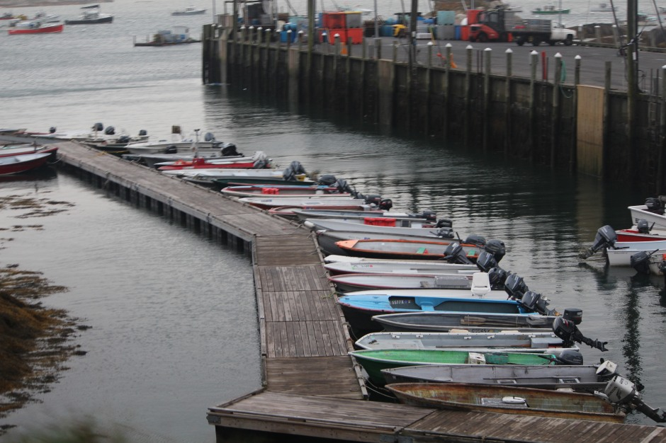 No boaters in sight: Stonington, Maine