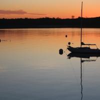 Weekly Photo Challenge: Sunrise at Acadia Dock