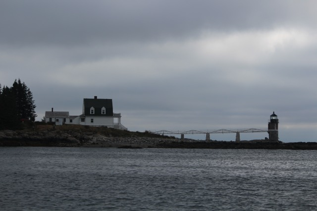 Early morning view of Marshall Point Lighthouse, Port Clyde, ME