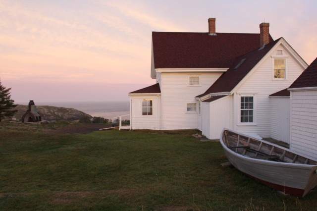 Monhegan Island Light at sunrise
