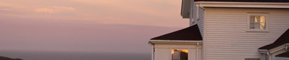 Daybreak: Lighthouse hill, Monhegan