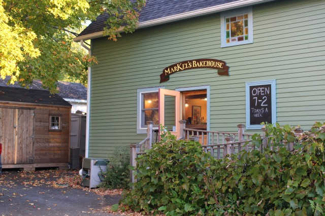 Open for business: MarKel's Bakehouse near the Castine harbor