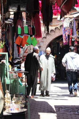 Bombarded by the sights and sounds of Marrakech, we headed into the medina to encounter even more sensory overload!