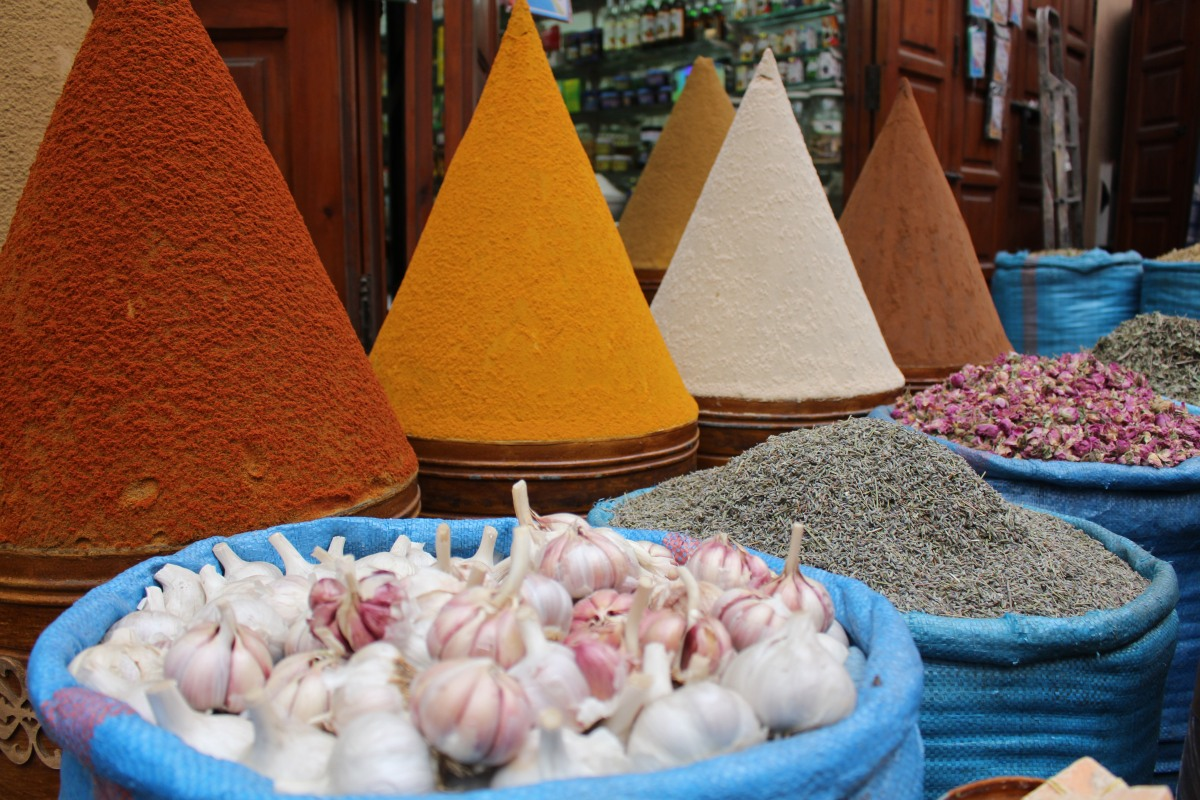 All the Makings of a Feast:  Marrakech Medina