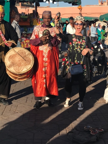 If you only get one chance to dance in Jemaa el-Fnaa, take it. Chef Joanne Weir did.