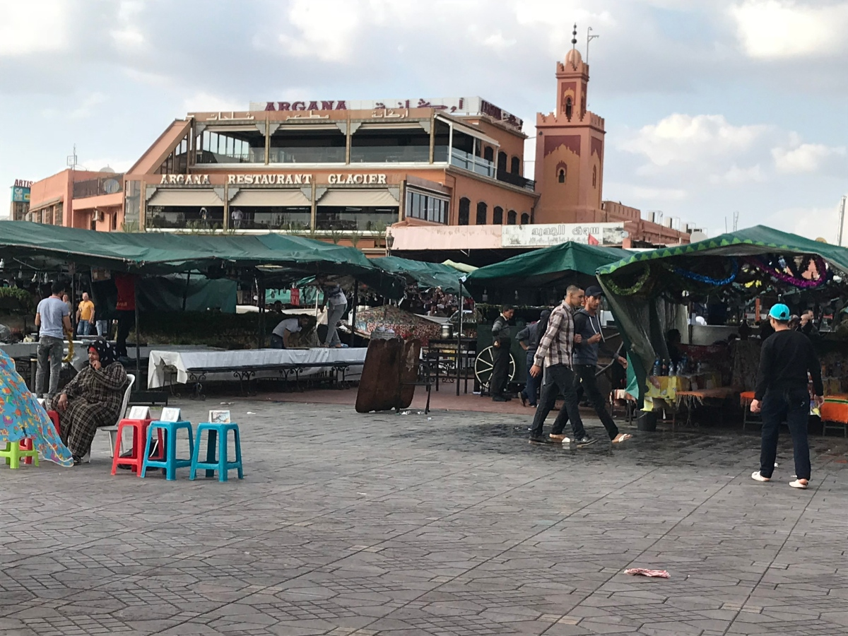 Party on the Plaza: Morocco's Jemaa el-Fnaa