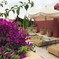 For a night in Marrakech:  Riad Les Yeux Bleus