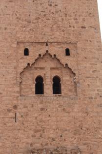 Window detail: Koutoubia Mosque