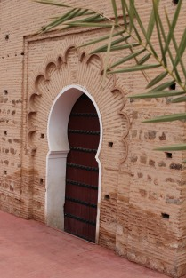Doorway at Koutoubia Mosque