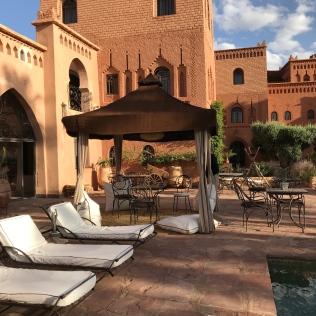 Luxury lodging: Ksar Ighnda