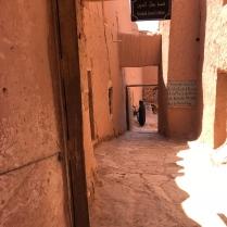 Narrow alleyways: Ait Ben Haddou