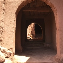 Series of archways: Ait Ben Haddou