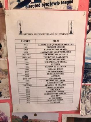Movies made at Ait Ben Haddou