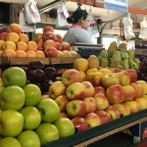 Stacks of fall apples: West Side Market