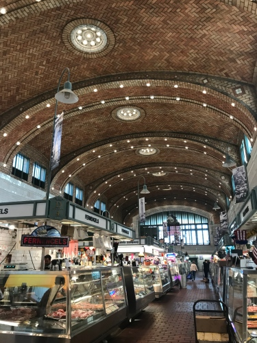 Historic West Side Market filled with edible treasures!