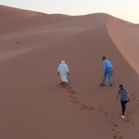 Glamping in Erg Chebbi or How We Rode Camels in the Sahara