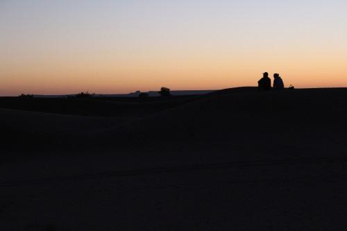 Sundown. At last.
