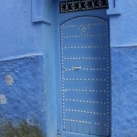 Best Doors of 2018:  Chefchaouen, Morocco