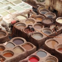 Just hold your nose and go:  The Fez Tanneries